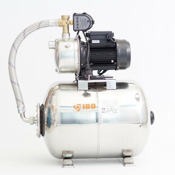 Hochwertiges 50 L Edelstahl Hauswasserwerk 750W 4200 l/h 4,3b elektronischer DS