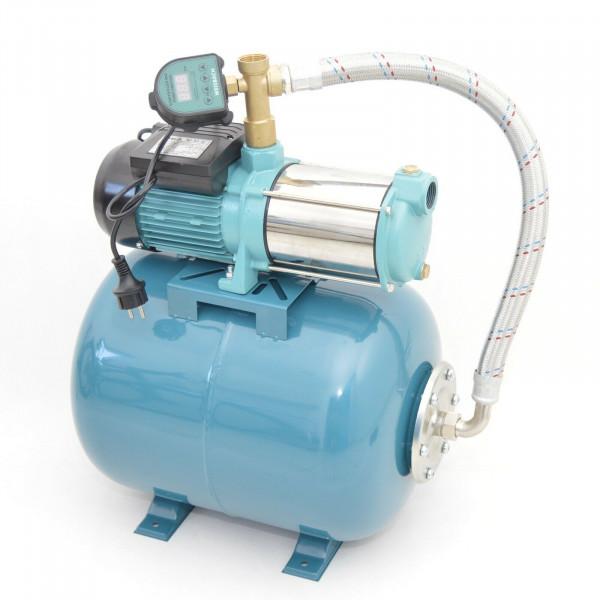 Hauswasserwerk 50 Liter 5-stufige Pumpe MHi1300 6000l/h Trockenlaufschutz DTS
