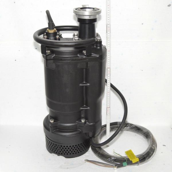 Professionelle Schlammpumpe Entwässerungspumpe 5,5kW 1200l/min Förderhohe 37 m