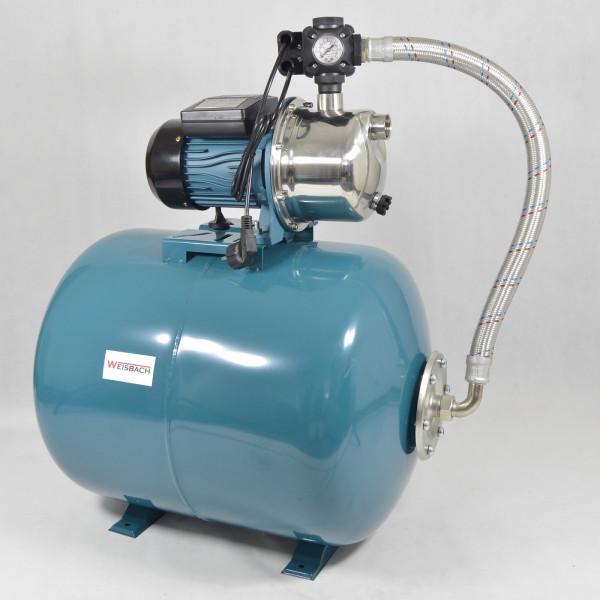 Top + Günstig Weisbach 100L Hauswasserwerk Hauswasserautomat 1,1kW 3600L/H 5bar