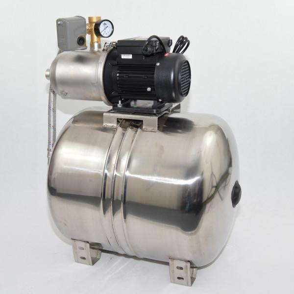 Hochwertiges 100L Edelstahl Hauswasserwerk HP1300 - 4200l/h - 5,8b