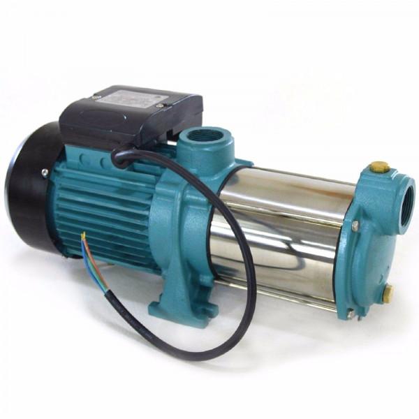 Gartenpumpe 1800 Watt INOX 9000 L/h 5bar Hauswasserwerk Kreiselpumpe