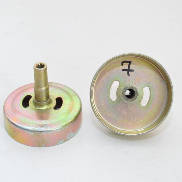Kupplungsglocke Motorsense Freischneider 7 Zahn Antrieb Ø 9 mm