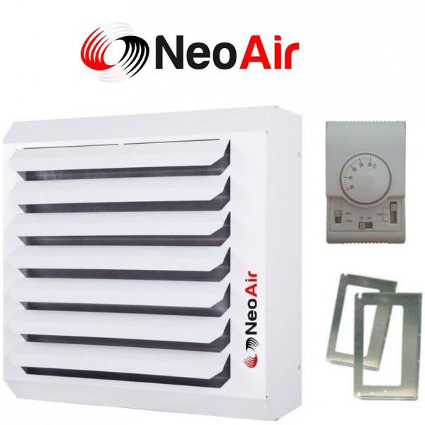 Hallenheizung Luftheizung Heizregister Heizgebläse 25kw + Drehzahlregler m. Thermostat