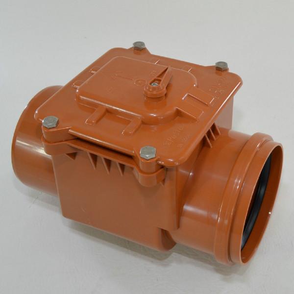 Rückstauklappe Ø 160 mm Rückstauverschluss Rattenschutz Geruchsverschluss