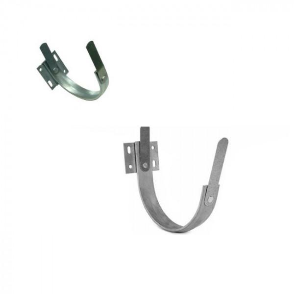 Stirnbretthalter Rinnenhalter verzinkt 8tlg./250 - NW 105