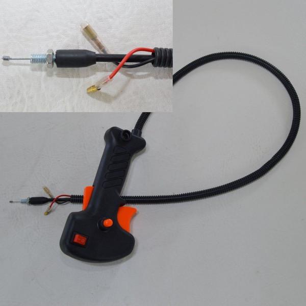 Gasgriff Motorsense Freischneider Rasentrimmer passend für Fuxtec BC52, BC520 AV