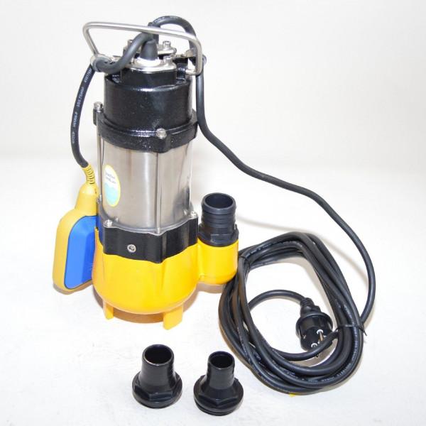Fäkalienpumpe Schmutzwasserpumpe 250W Tauchpumpe freier Durchlauf bis 18 mm