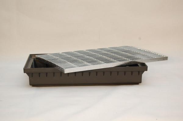 Schuhabstreifer Fußabstreifer Fußmatte Maschenrost Gitter Fußabtreter 580x365mm