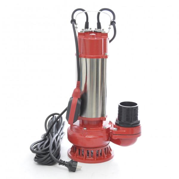 Schmutzwasserpumpe Tauchpumpe Wasserpumpe 1,5kW 1200l/min Grubenpumpe Baupumpe SWQ1500 Pro