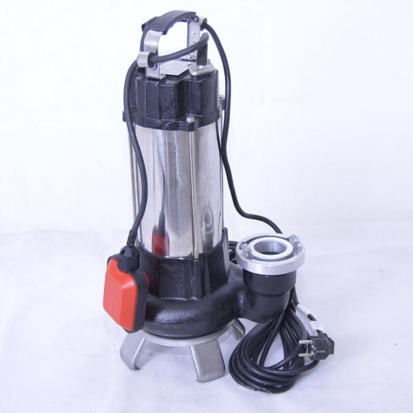 Fäkalienpumpe Tauchpumpe Schmutzwasserpumpe 1,1kW für Partikel bis 35 mm + Storz