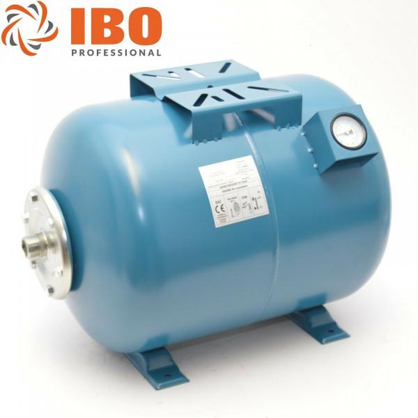 50L IBO Druckkessel Membrankessel Hauswasserwerk Ausdehnungsgefäß + Manometer