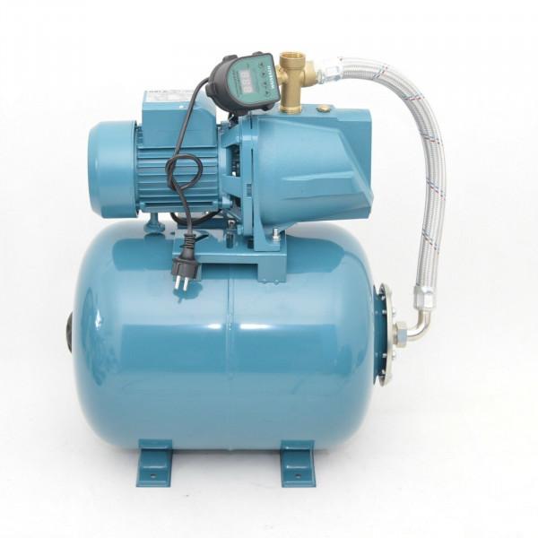 Hauswasserwerk 50 Liter Pumpe JSW 150 - 4800l/h - 4,6bar + Trockenlaufschutz DTS