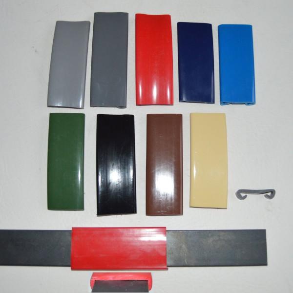 1m PVC Handlauf Kunststoffhandlauf Treppenhandlauf Gummi 40x8mm schwarz