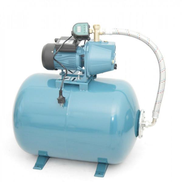 50 L Hauswasserwerk Pumpe 1100 W - 5bar 3600L/h Hauswasserautomat Gartenpumpe elektronischer Drucksc