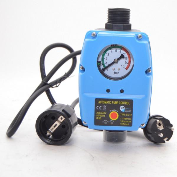 Pumpensteuerung Druckwächter Druckschalter Gartenpumpe Tiefbrunnenpumpe bis 10bar