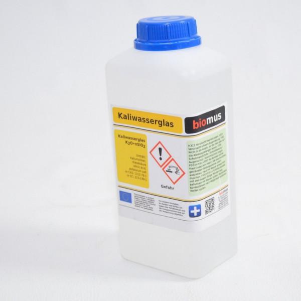 1 Liter /1,2kg Kaliwasserglas Grundierung Kali-Wasserglas Wasserglas Haftgrund