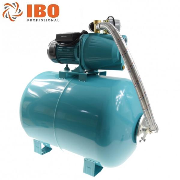100L Hauswasserwerk Pumpe 1100 W 3600L/h 5bar Hauswasserautomat Gartenpumpe