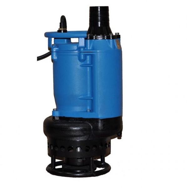 """Baupumpe Tauchpumpe Schmutzwasserpumpe Anschl. 4"""" 5,5kW - 400V 1750l/min bis 8mm"""