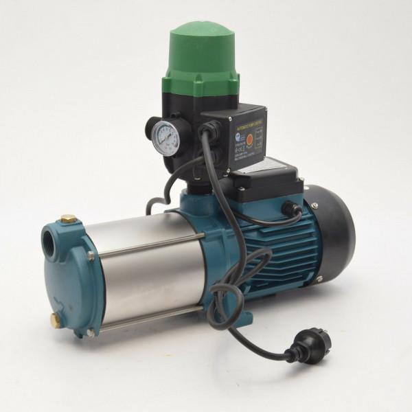 Kreiselpumpe Hauswasserwerk Gartenpumpe MH1300 1,3kW 6000 L/h m. Steuerung 5,5b