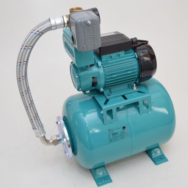 24 L Hauswasserwerk Pumpe 750 W Hauswasserautomat Gartenpumpe 7,8bar