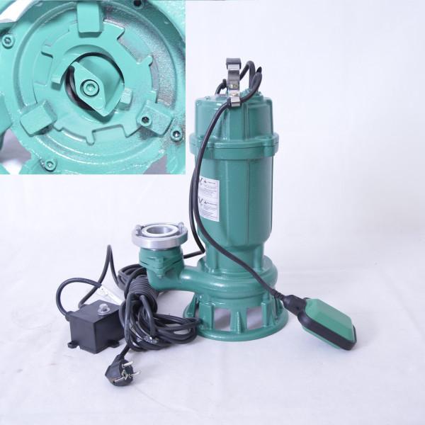 Profi Schmutzwasserpumpe Fäkalienpumpe m. Cutter/ Schneidmesser 1,1kW 300L/min + Storz