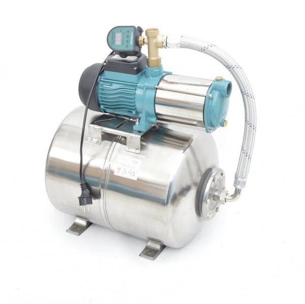 Hauswasserwerk 50L INOX 5-stufige Pumpe MHi1300 6000l/h Trockenlaufschutz EDS