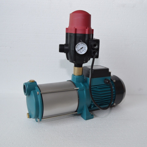 Hauswasserautomat Gartenpumpe Kreiselpumpe MH 1300 INOX 1300W 6000 L/h 5,5 bar