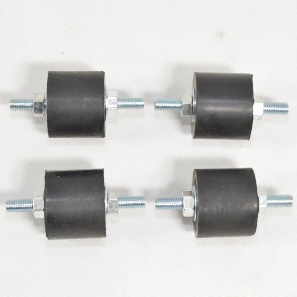 4 x M8 Inventer Klimaanlage Schwingungsdämpfer Antivibrationsfüße Klimagerät-Copy