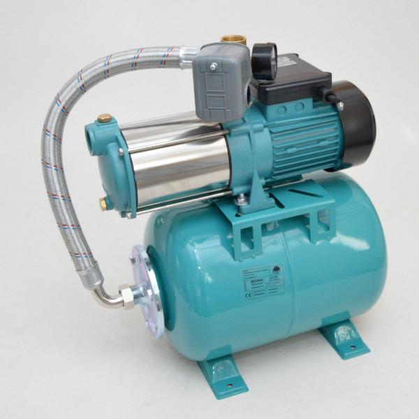 Hauswasserwerk Hauswasserautomat 24 L Pumpe MHI1300 1300 W Gartenpumpe Jetpumpe