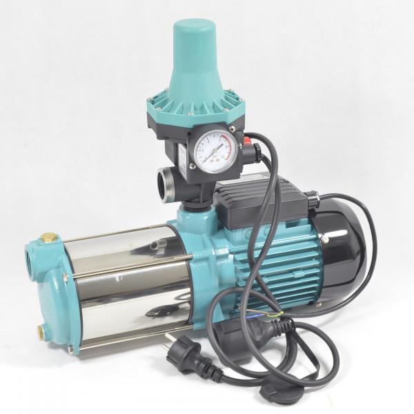 Hauswasserwerk Hauswasserautomat Gartenpumpe MHI1300W 6000L/H - 5,5bar + Steuerung WEISBACH PC-13