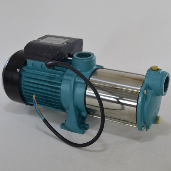 Gartenpumpe 2200 Watt INOX 9600 L/h 5,5bar Hauswasserwerk Kreiselpumpe