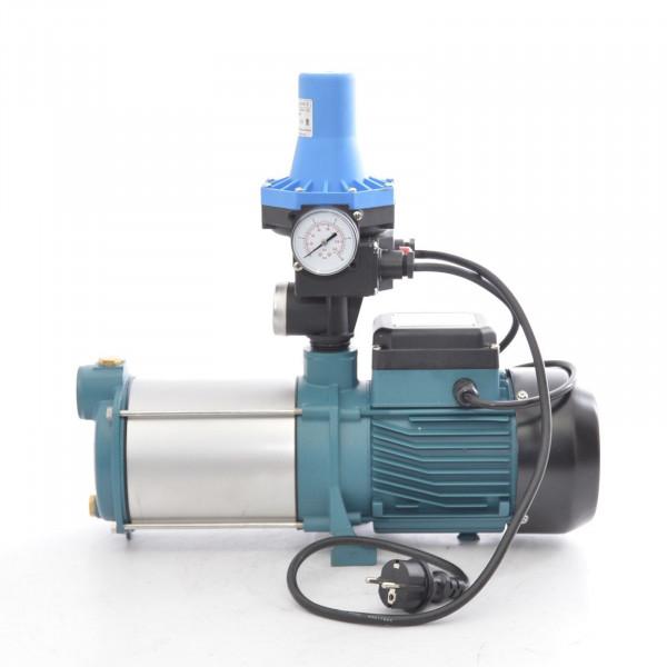 Kreiselpumpe Hauswasserwerk Gartenpumpe INOX 1300 Watt 6000 m. Pumpensteuerung