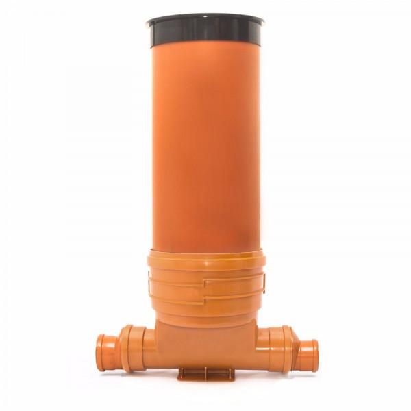 KG Schacht DN 400 Komplett-SET Rohr Kanal Entwässerung einf. Anschluss 2 x DN110