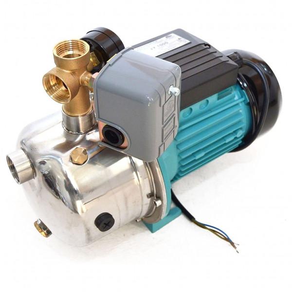 Kreiselpumpe Gartenpumpe 1100 Watt 3600 L/h 5 bar + Druckschalter Hauswasserwerk JY1000