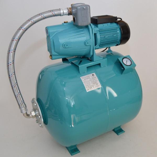 80 L mit Luftdruckmano Hauswasserwerk Pumpe 1100 W Hauswassrautomat Gartenpumpe