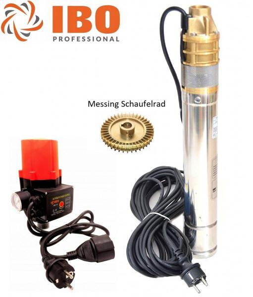 """Tiefbrunnenpumpe 3"""" SKM100 - 750W - 2400L/h - 6 bar + Pumpensteuerung SK-15"""