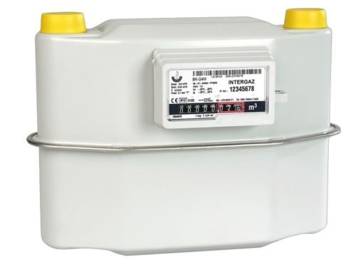 Gaszähler G4 Zweirohr 2 Rohr 250 mm bis 6m³ /h Zweistutzen aktuelle Eichung
