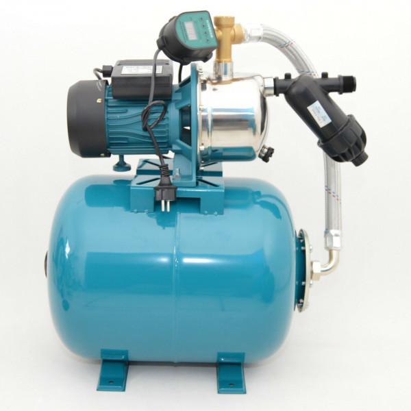 Hochwertiges 50 L Hauswasserwerk Hauswasserautomat Gartenpumpe 1,1kW - 5 bar EDS