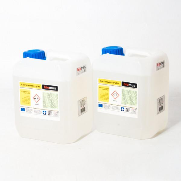 10 Liter ( 13 kg ) Natronwasserglas Natriumsilikat
